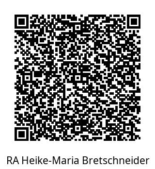 contact information in QR code